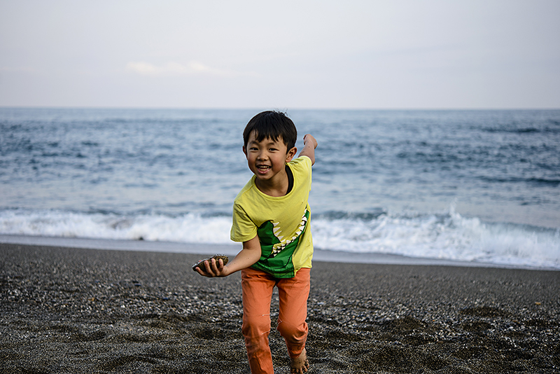 Japan, Kochi. Apr/22/2015. Katsurahama beach.