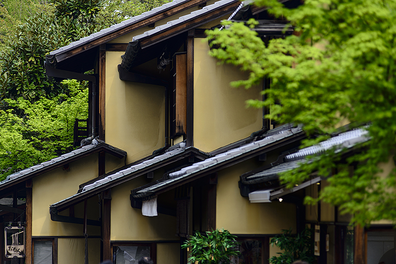 Japan, Kyoto. Apr/16/2015. Gion District, Kiyomizu-dera walk.
