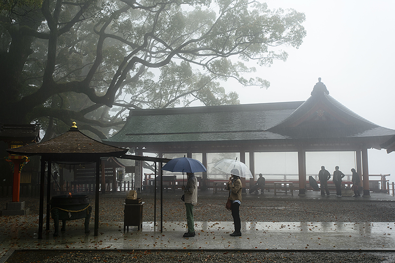 Japan, Mie. Apr/20/2015. Kiikatsura. Nachi Taisha Shrine and Nachisan Seiganto-ji Temple