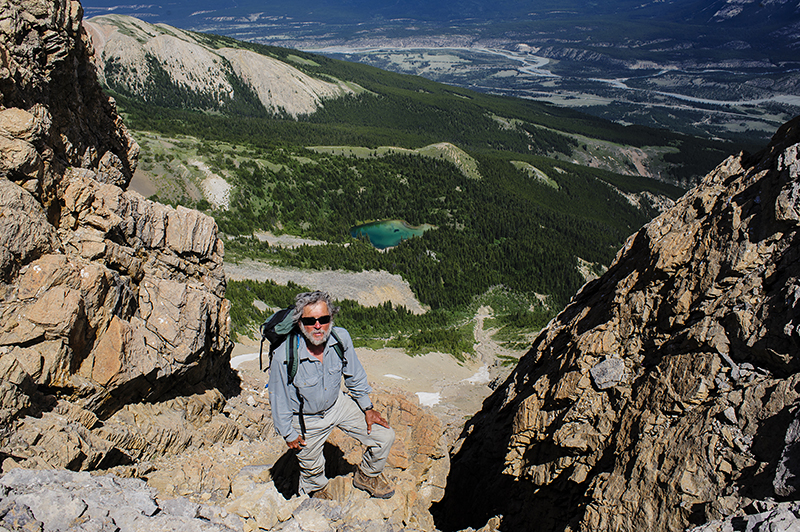 Canada, North Saskatchewan. June/27/2015. Whirlpool Ridge.