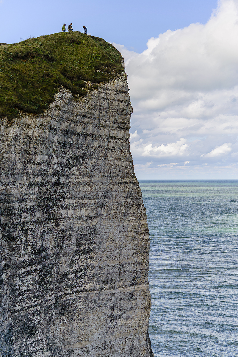 France, Etretat. Sept/02/2015.
