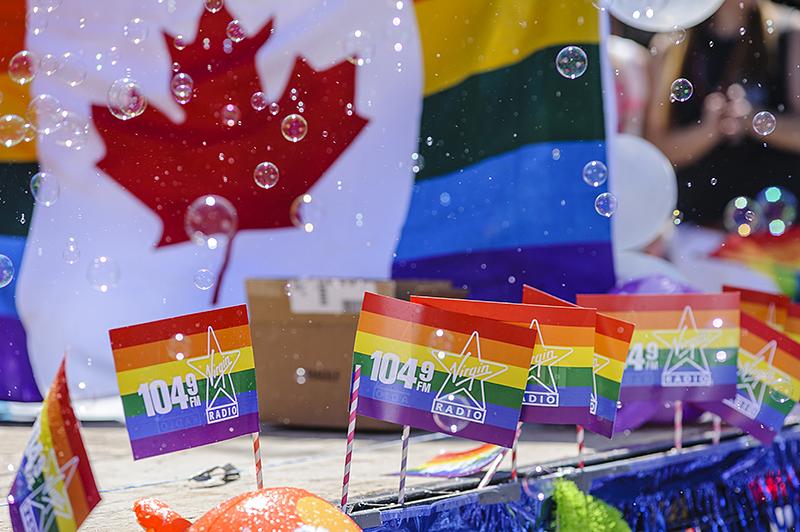 Canada, Edmonton. Jun/04/2016. Pride Parade.